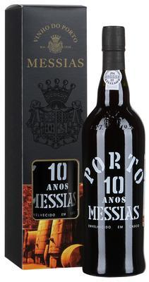 Портвейн «Messias 10 Anos Porto» в подарочной упаковке