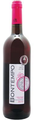 Вино столовое розовое полусухое «Bontempo»