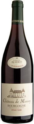 Вино красное сухое «Bourgogne Pinot Noir Chateau de Mercey» 2014 г.