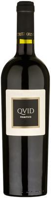 Вино красное сухое «Primitivo Salento Rosso Quid» 2015 г.