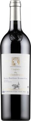 Вино красное сухое «Virginie de Valandraud» 2012 г.