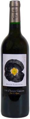 Вино красное сухое «1/4 d'heure Gascon Rouge» 2016 г.