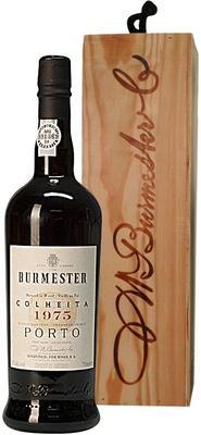 Портвейн «Burmester Colheita» 1975 г., в деревянной подарочной упаковке