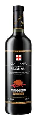 Вино красное полусладкое «Marniskari Khvanchkara»