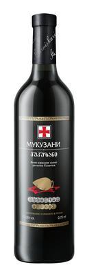 Вино красное сухое «Марнискари Мукузани»