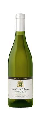 Вино белое полусладкое «Cuvee du Prince Vouvray»