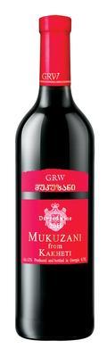 Вино красное сухое «Georgian Royal Wines (GRW) Mukuzani»