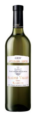 Вино столовое белое полусладкое «Georgian Royal Wines (GRW) Alazanskaya Dolina»