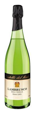 Вино игристое жемчужное белое сладкое  «Castello del Monte Lambrusco Dell Emilia»