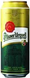 Пиво «Pilsner Urquell» в жестяной банке
