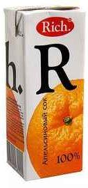 Сок «Rich Апельсин, 0.2 л»
