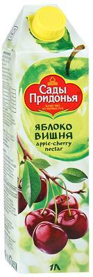 Сок «Сады Придонья Яблоко-Вишня, 1 л»
