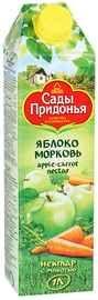 Сок «Сады Придонья Яблоко Морковь» нектар