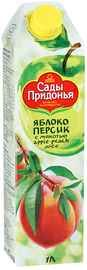 Сок «Сады Придонья Яблоко-Персик»