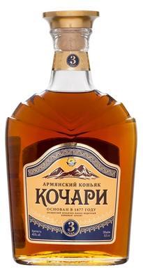 Коньяк армянский «Кочари 3 звезды, 0.25 л»