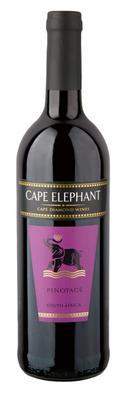 Вино красное сухое «Cape Elefant Pinotage»