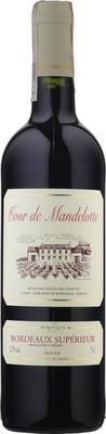 Вино красное сухое «Tour de Mandelotte Bordeaux Superieur» 2015 г.