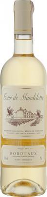Вино белое полусладкое «Tour de Mandelotte Bordeaux» 2017 г.