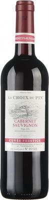 Вино красное сухое «La Croix du Pin Cabernet Sauvignon» 2016 г.