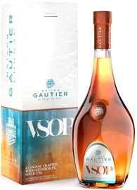 Коньяк французский «Gautier VSOP» в подарочной упаковке