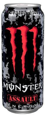 Энергетический напиток «Black Monstrer Assault»