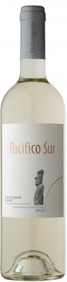 Вино белое сухое «Pacifico Sur Sauvignon Blanc» 2016 г.