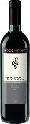 Вино красное полусухое «Boccantino Nero D`Avola Terre Siciliane» 2016 г.