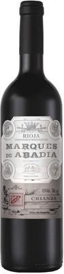 Вино красное сухое «Marques de Abadia Crianza» 2013 г.