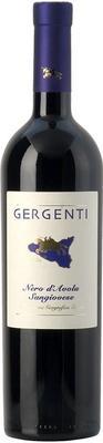 Вино красное сухое «Gergenti Nero d'Avola-Sangiovese» 2012 г.