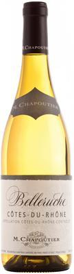 Вино белое сухое «Cotes-du-Rhone Belleruche M.Chapoutier» 2016 г.