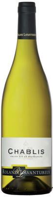 Вино белое сухое «Chablis Roland Lavantureux, 0.75 л» 2016 г.