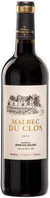 Вино красное сухое «Cahors Malbec du Clos» 2012 г.