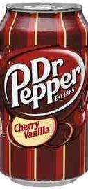 Газированный напиток «Dr.Pepper Cherry Vanilla»