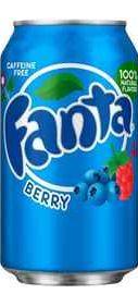Газированный напиток «Fanta Berry»