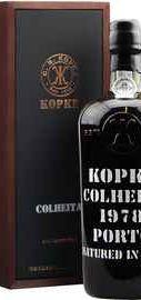 Портвейн «Kopke Colheita Porto» 1978 г., в деревянной подарочной упаковке