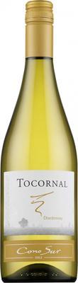 Вино белое полусухое «Cono Sur Tocornal Chardonnay» 2016 г.