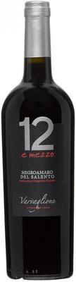 Вино красное полусухое «12 E Mezzo Negroamaro» 2015 г.