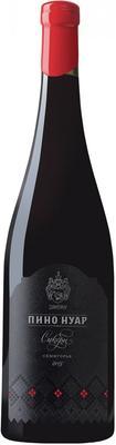 Вино красное сухое  «Пино Нуар Сикоры» 2015 г.