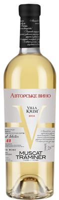 Вино столовое белое сладкое «Muskat Traminer»