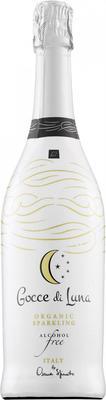 Вино безалкогольное игристое белое сладкое  «Gocce di Luna»
