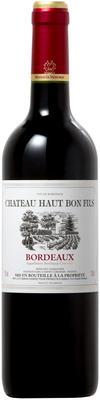Вино красное сухое «Chateau Haut Bon Fils Bordeaux» 2015 г.