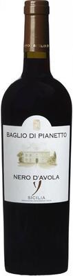 Вино красное сухое «Nero d'Avola» 2015 г.