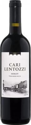 Вино красное сухое «Cari Lentozzi Merlot»