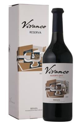 Вино красное сухое «Vivanco Reserva» 2011 г., в подарочной упаковке