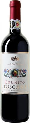 Вино красное полусухое «Brunito Toscana Cantina di Montalcino» 2015 г.