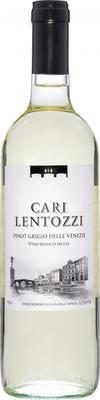 Вино белое сухое «Cari Lentozzi Pinot Grigio delle Venezie» 2018 г.