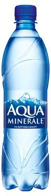 Вода газированная  «Аква Минерале, 1 л» пластик