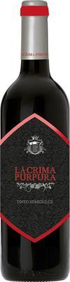 Вино красное полусладкое  «Lacrima Purpura»