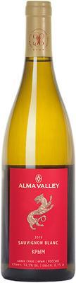 Вино белое сухое «Alma Valley Sauvignon Blanc» 2016 г.