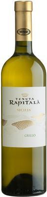 Вино белое сухое «Rapitala Grillo Terre Siciliane» 2016 г.